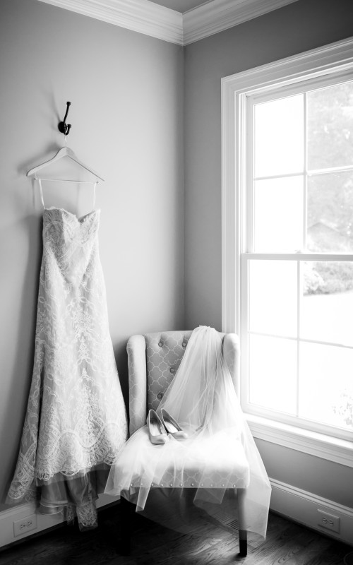 B&W | Raleigh NC Wedding Photography